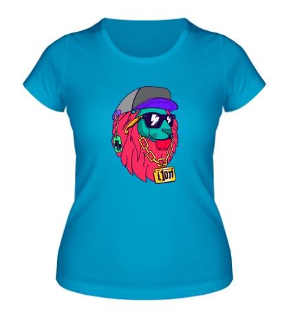 Женская футболка Lion SWAG