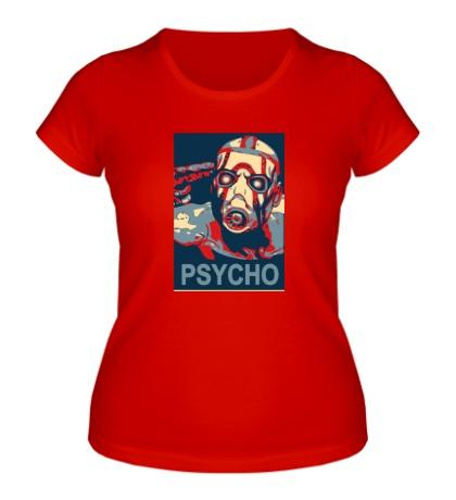 Женская футболка Psycho Borderlands