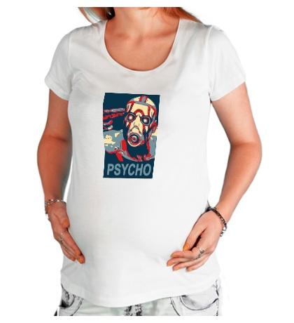 Футболка для беременной «Psycho Borderlands»