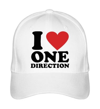 Бейсболка «I love One Direction»