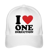 Бейсболка I love One Direction