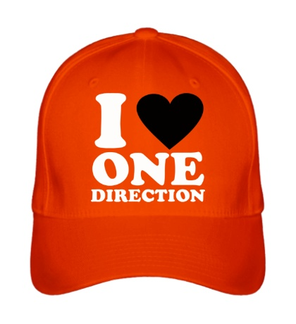 Бейсболка «I love One Direction»