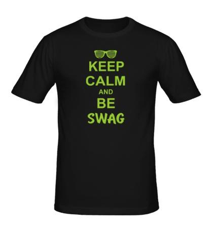 Мужская футболка Keep Calm & Be Swag