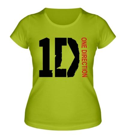 Женская футболка «One direction»