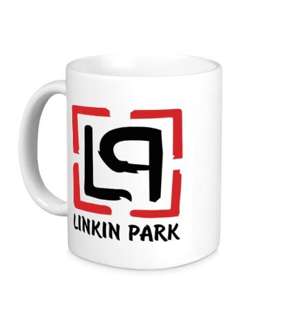 Керамическая кружка Linkin Park Sign