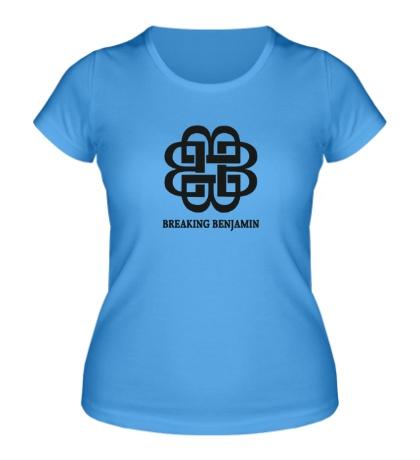 Женская футболка Breaking benjamin