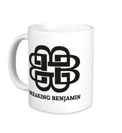 Керамическая кружка Breaking benjamin