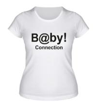 Женская футболка Baby connection