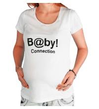 Футболка для беременной Baby connection