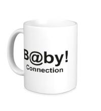 Керамическая кружка Baby connection