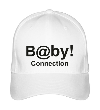 Бейсболка «Baby connection»