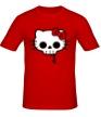 Мужская футболка «Китти череп» - Фото 1