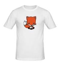 Мужская футболка Маленький лисенок