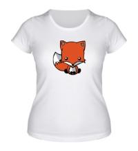 Женская футболка Маленький лисенок