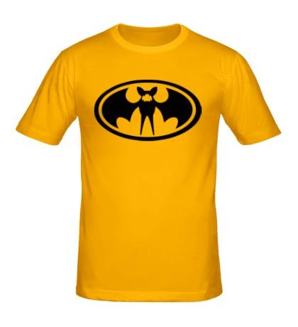 Мужская футболка Знак летучий мыши