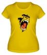 Женская футболка «Злая горилла» - Фото 1