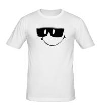 Мужская футболка Смайл в очках