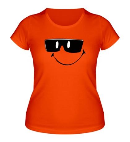 Женская футболка Смайл в очках