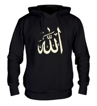 Толстовка с капюшоном Аллах, свет