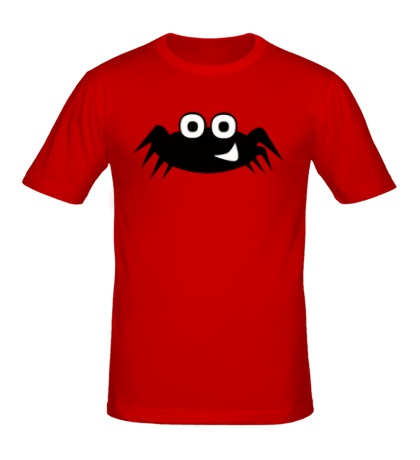 Мужская футболка Улыбчивый паучок
