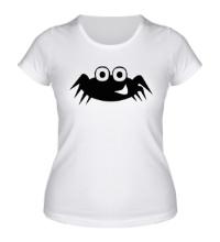 Женская футболка Улыбчивый паучок