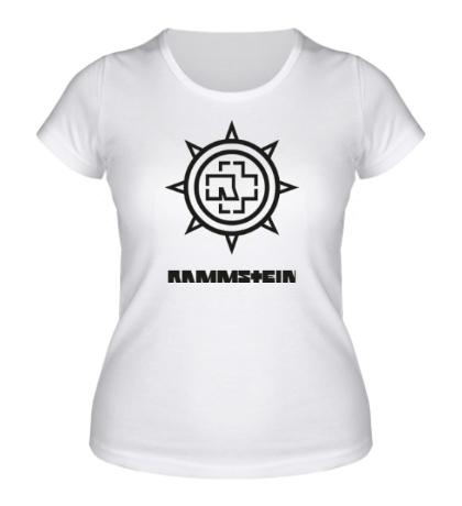 Женская футболка Rammstein Star