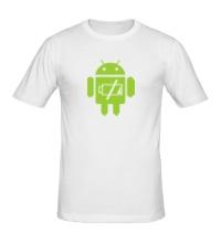 Мужская футболка Android Battery