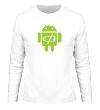 Мужской лонгслив Android Battery