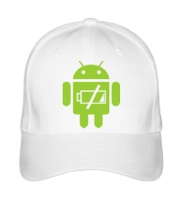 Бейсболка Android Battery
