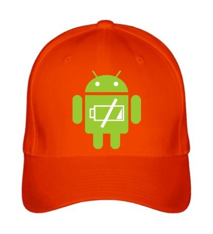 Бейсболка «Android Battery»