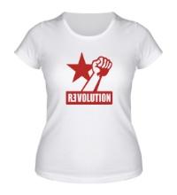 Женская футболка Revolution Forever