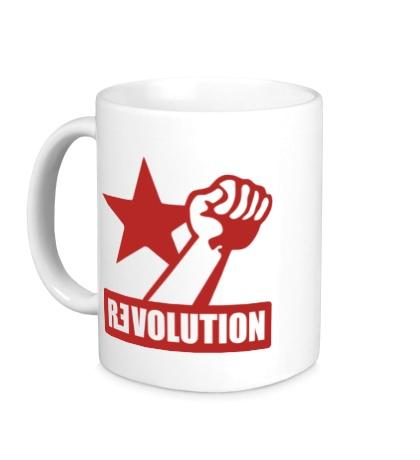 Керамическая кружка Revolution Forever