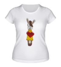 Женская футболка Зайка: my love