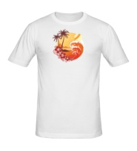 Мужская футболка Море и острова