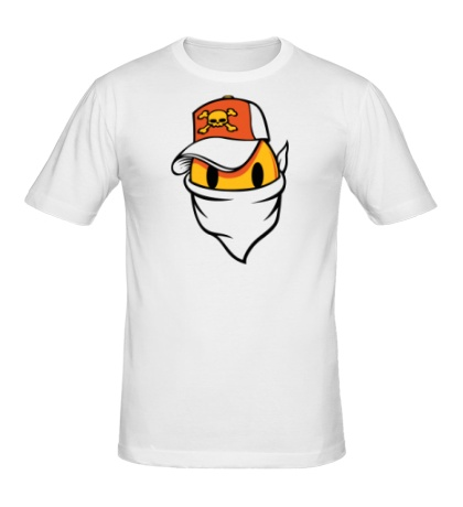 Мужская футболка Смайл в бандане