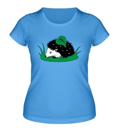 Женская футболка Ёжик