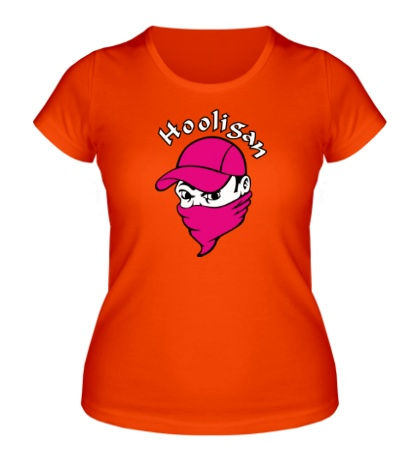Женская футболка Football Hooligan