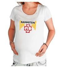 Футболка для беременной Rammstein Angel