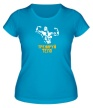 Женская футболка «Тренируй тело» - Фото 1