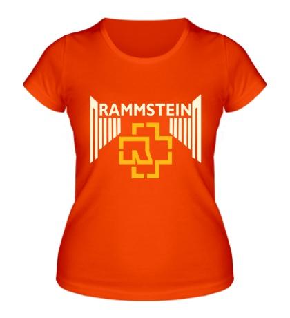 Женская футболка Rammstein Angel Glow