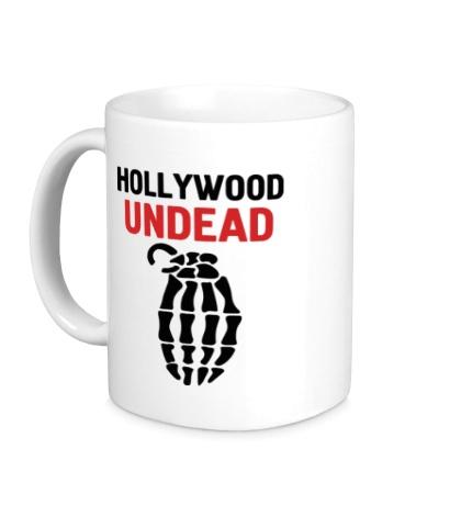 Керамическая кружка Hollywood undead