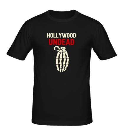 Мужская футболка Hollywood undead glow