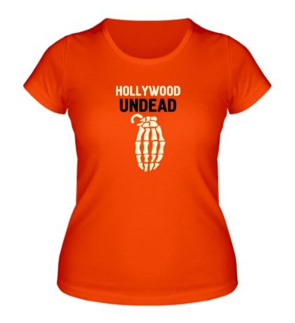 Женская футболка Hollywood undead glow