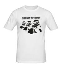 Мужская футболка Support the troops