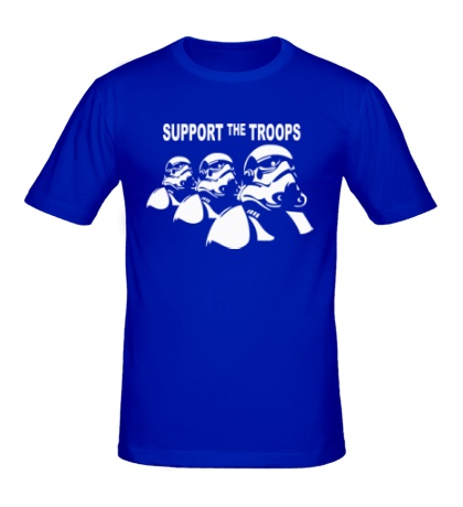Мужская футболка Support the troops