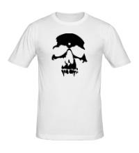 Мужская футболка Силуэт черепа