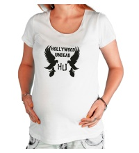 Футболка для беременной Hollywood Undead Birds