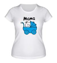 Женская футболка Ребенок в коляске