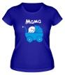 Женская футболка «Ребенок в коляске» - Фото 1
