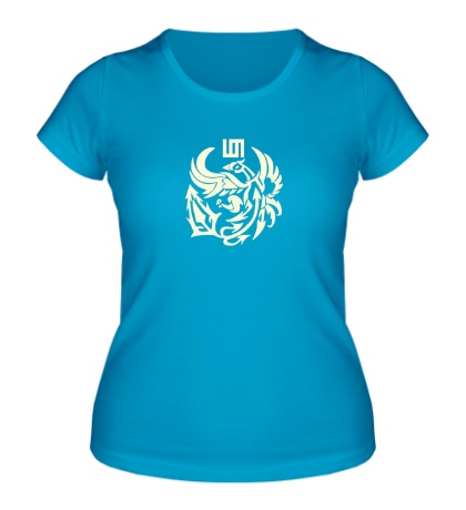 Женская футболка 30 STM Bird Glow